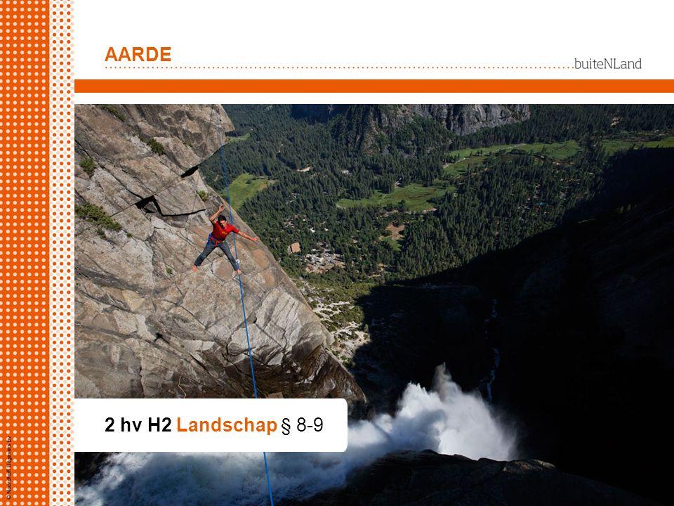 AARDE 2 hv H2 Landschap § 8-9