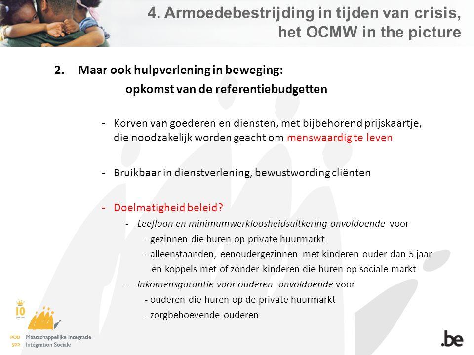 4. Armoedebestrijding in tijden van crisis, het OCMW in the picture 2.