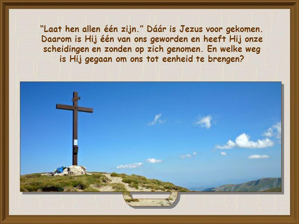 Het lijkt onmogelijk, maar dat is het niet, vanwege dat woordje 'zoals': dat betekent dat we één kunnen zijn zoals de Vader en Jezus.