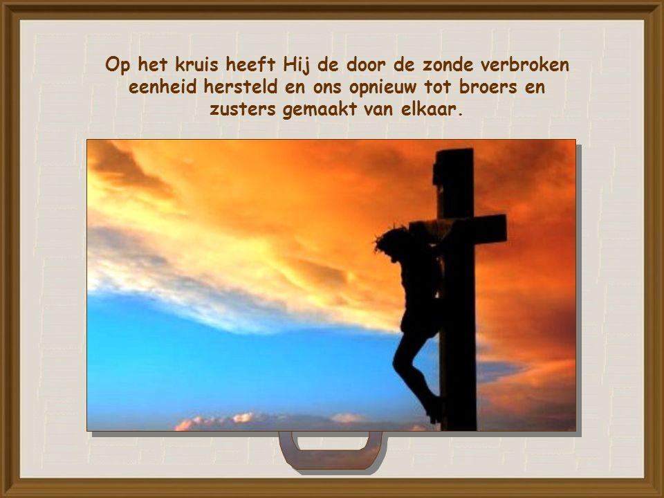 Het is de weg van het kruis.