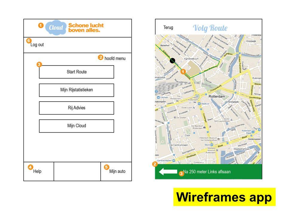 Wireframes app