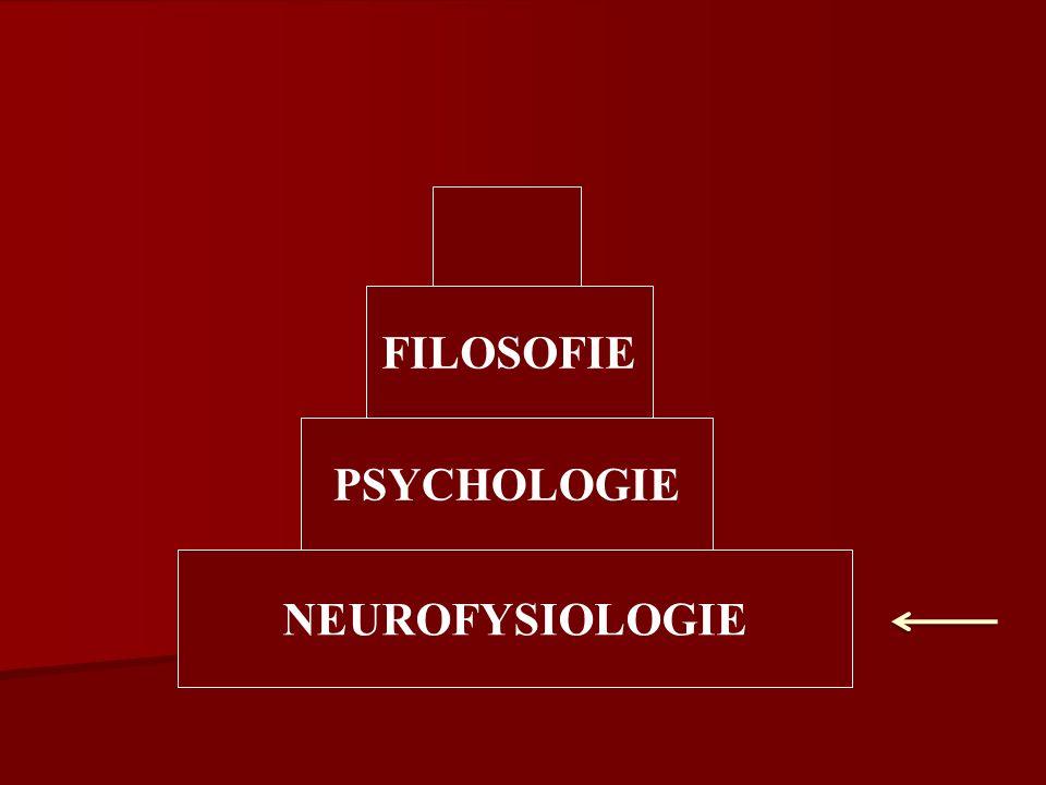 PSYCHOLOGIE NEUROFYSIOLOGIE FILOSOFIE