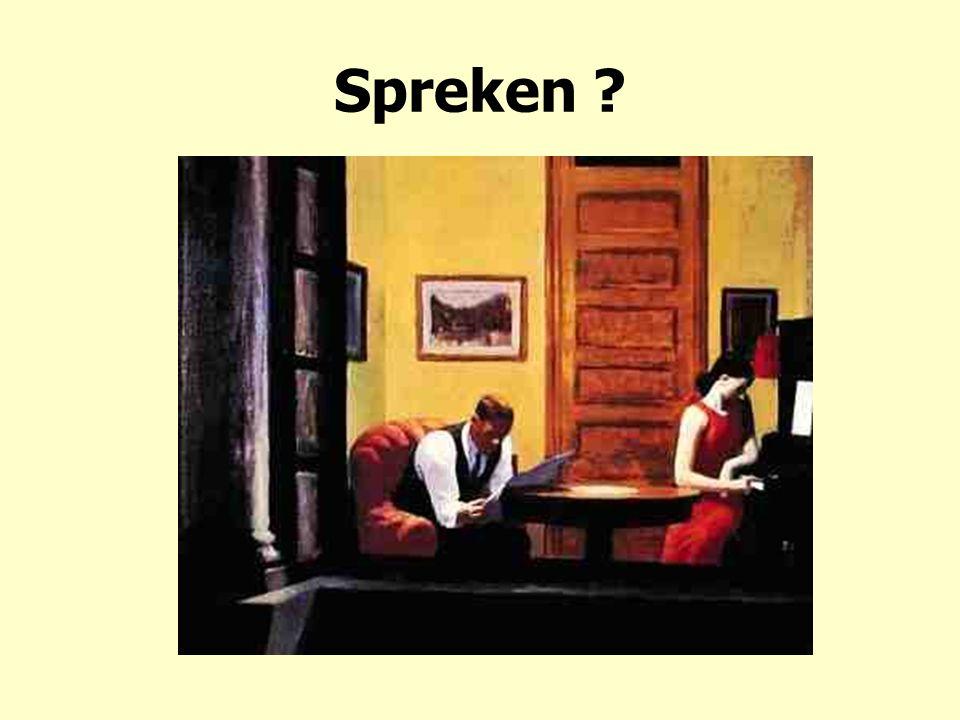 Spreken ?