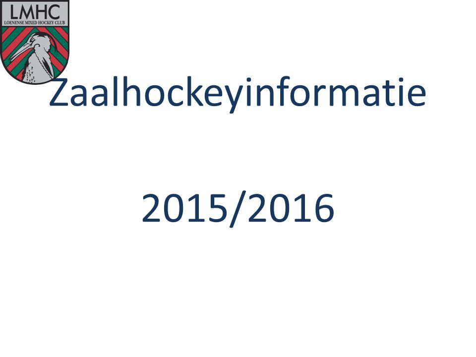 Zaalhockeyinformatie 2015/2016