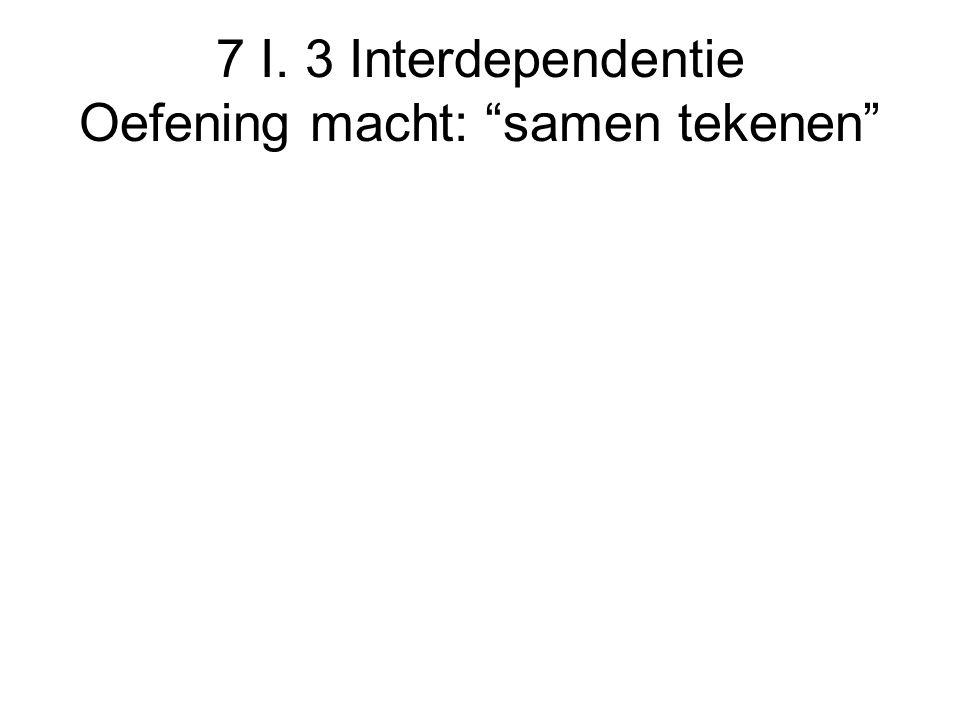 """7 I. 3 Interdependentie Oefening macht: """"samen tekenen"""""""