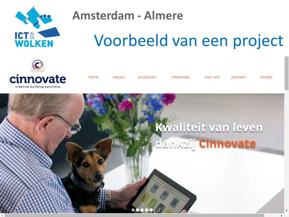 Amsterdam - Almere Voorbeeld van een project