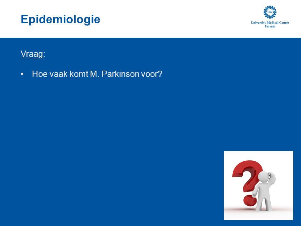 Medicamenteuze behandeling Anticholinergica: