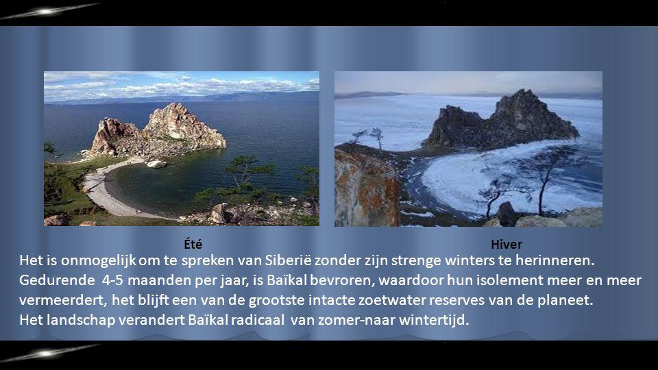 ÉtéHiver Het is onmogelijk om te spreken van Siberië zonder zijn strenge winters te herinneren.