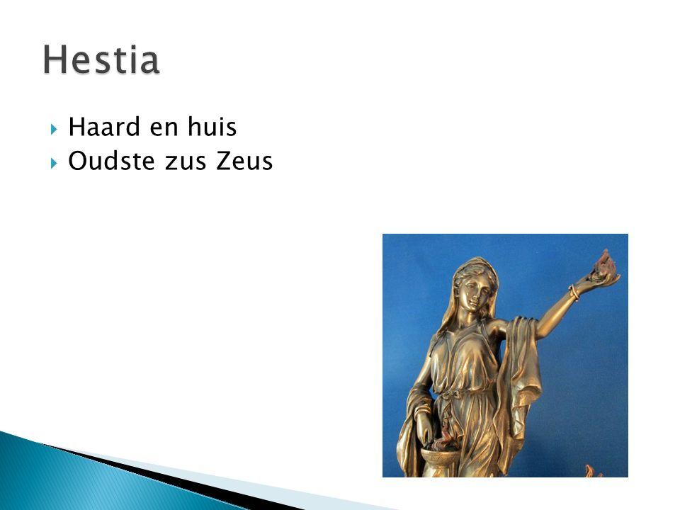  Haard en huis  Oudste zus Zeus