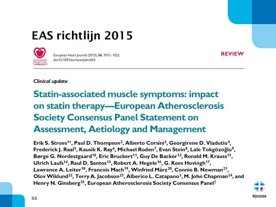 66 EAS richtlijn 2015 66