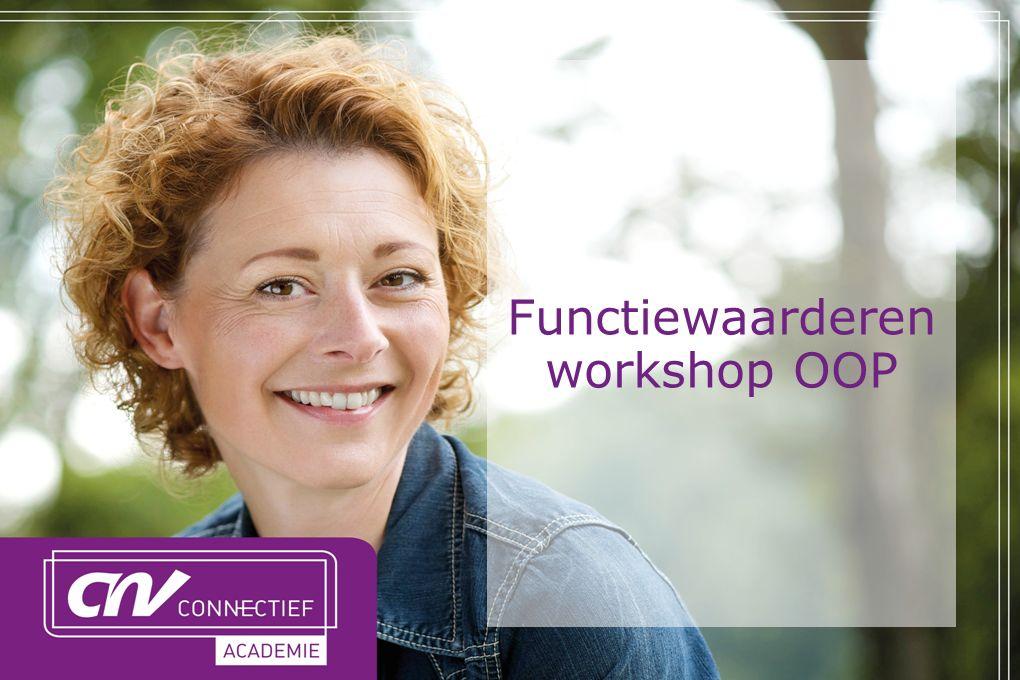 Functiewaarderen workshop OOP