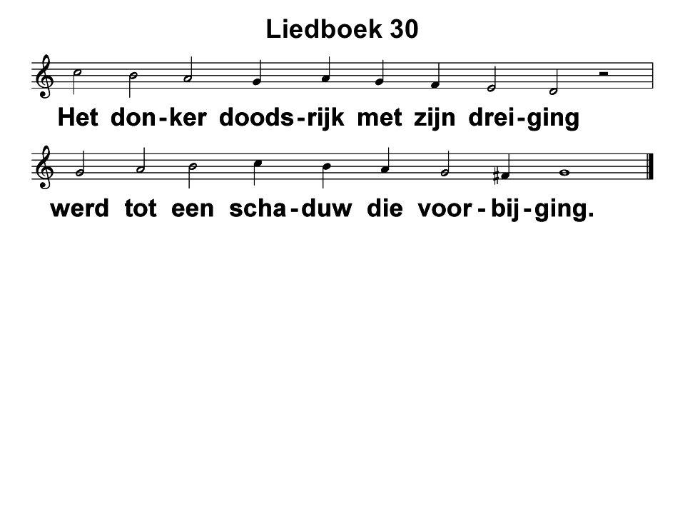 Liedboek 30