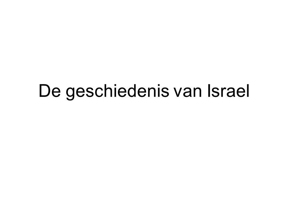 De geschiedenis van Israel