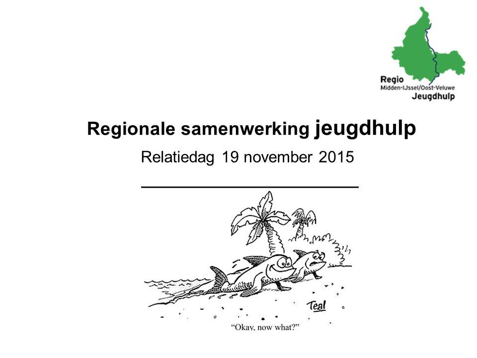 Regionale samenwerking jeugdhulp Relatiedag 19 november 2015