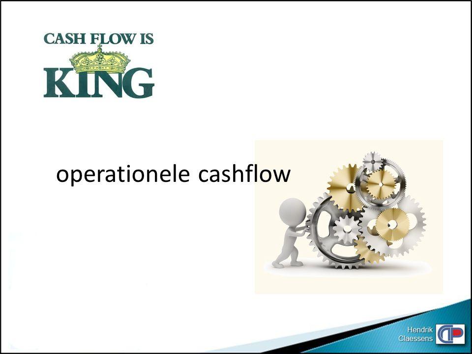 operationele cashflow
