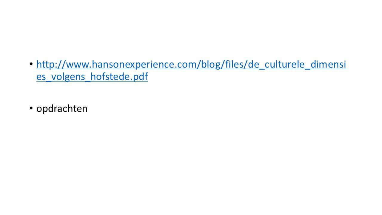 http://www.hansonexperience.com/blog/files/de_culturele_dimensi es_volgens_hofstede.pdf http://www.hansonexperience.com/blog/files/de_culturele_dimens
