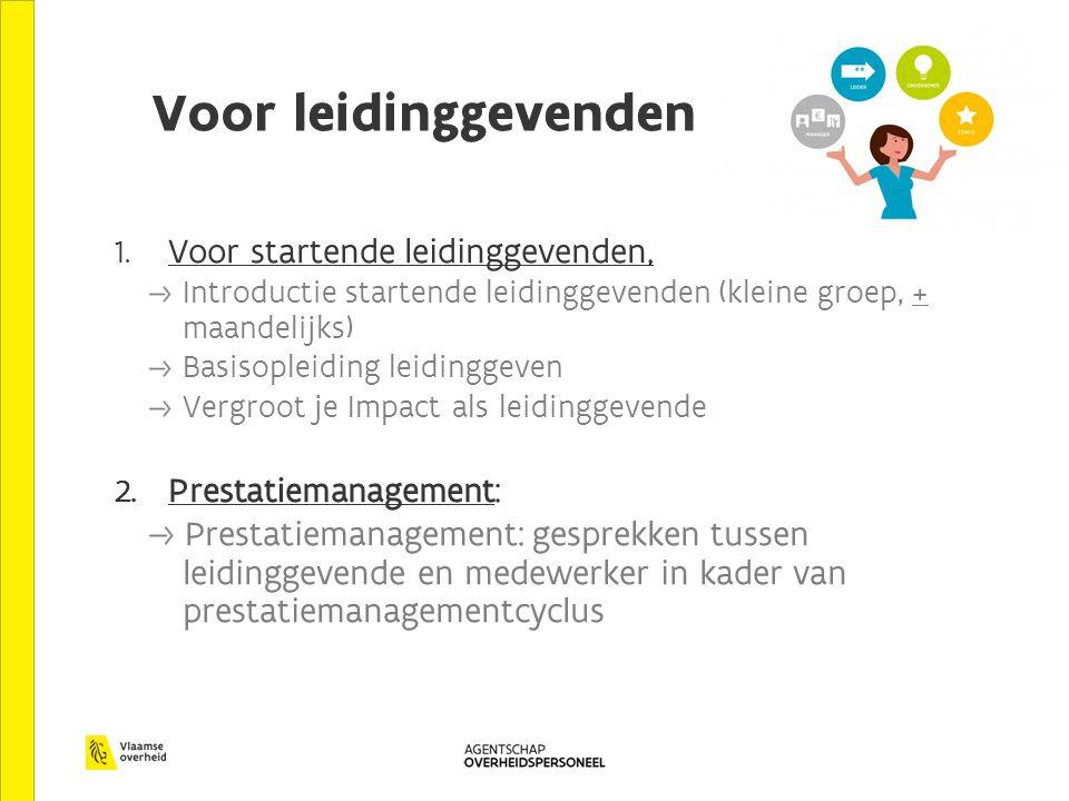 3.Operationeel leidinggevenden: Module 1: Leidinggeven - de basis.