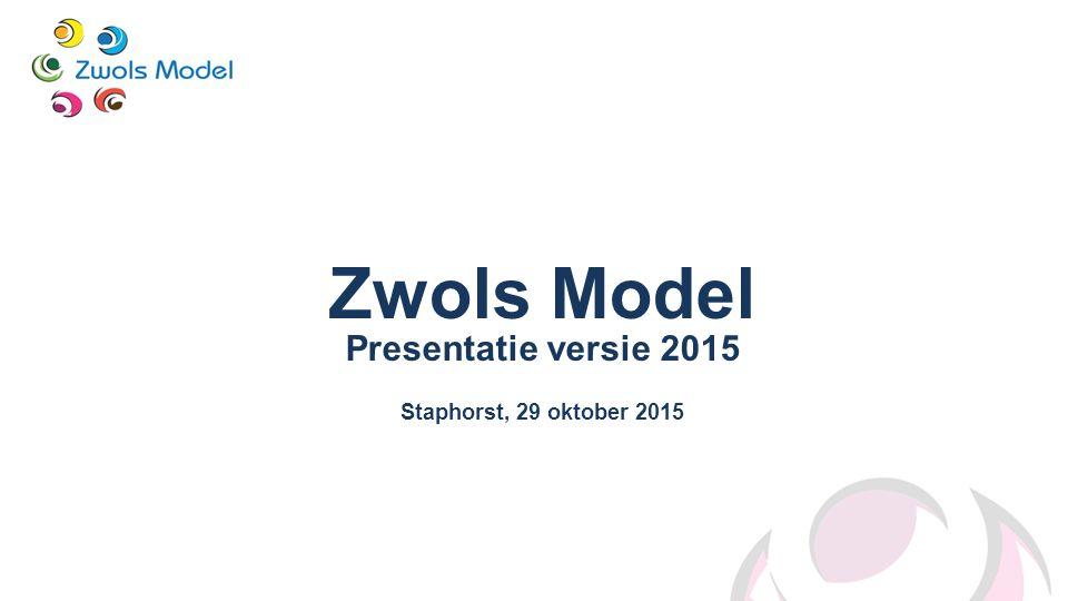 Zwols Model Presentatie versie 2015 Staphorst, 29 oktober 2015