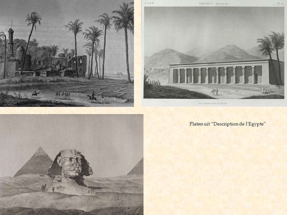 """Platen uit """"Description de l'Egypte"""""""