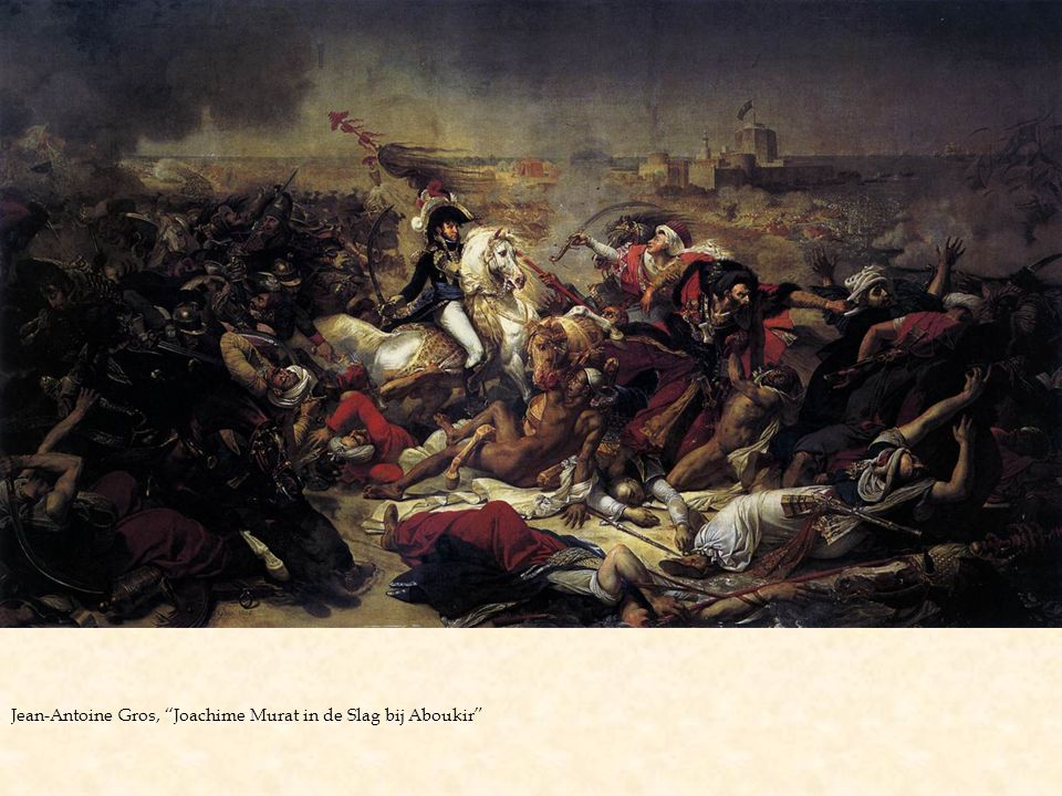 "Jean-Antoine Gros, ""Joachime Murat in de Slag bij Aboukir"""