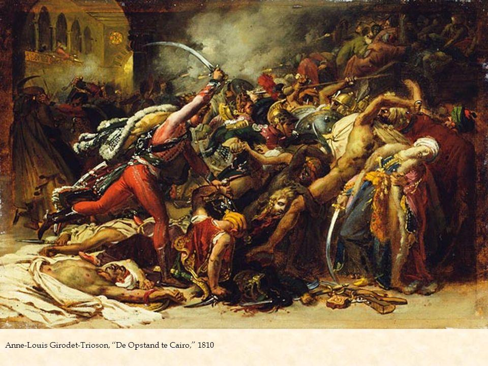 "Anne-Louis Girodet-Trioson, ""De Opstand te Cairo,"" 1810"