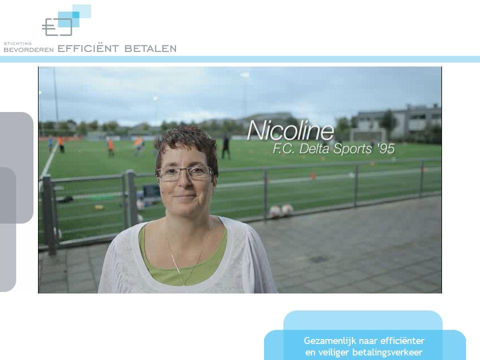 Gezamenlijk naar efficiënter en veiliger betalingsverkeer Betalen in Nederland Sportclubs met een pinautomaat: - Fitness470 - Zwembaden410 - Golf69 - Voetbal63 (>4000 clubs) - Hockey 15 (>300 clubs) - Korfbal?