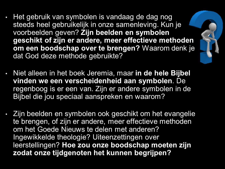 Het gebruik van symbolen is vandaag de dag nog steeds heel gebruikelijk in onze samenleving.