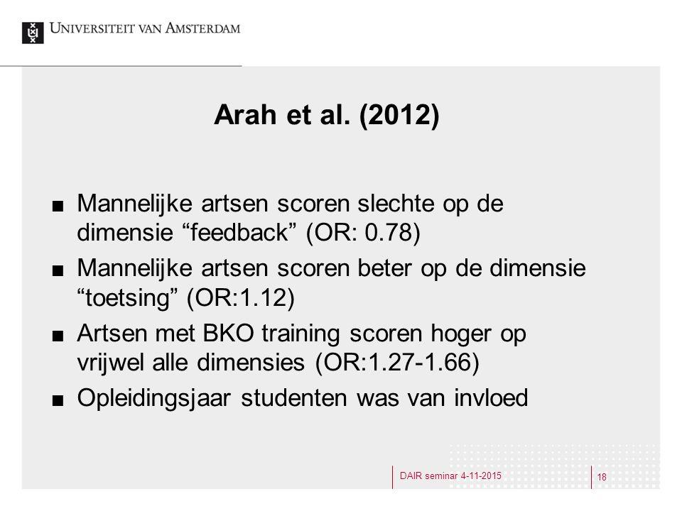 Arah et al.