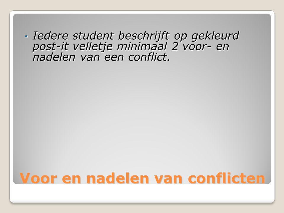 conflicthantering Er is sprake van conflicthantering als je als volwassene in het hier en nu en meerzijdig partijdig kunt handelen.