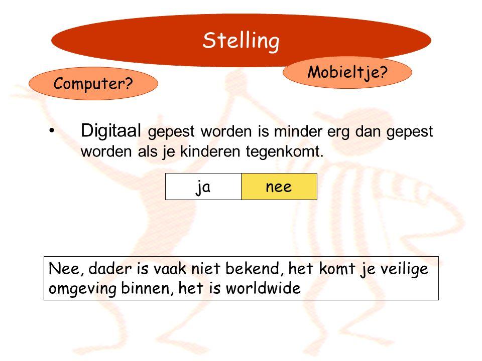 pestweb.nl meldknop.nlpestweb.nl meldknop.nl (meld cyberpesten) mijnkameraadje.nl (nieuwe vrienden?) http://www.oudersonline.nl/ http://www1.k9webprotection.com/ (parental control) http://kinderen.moed.nl/pesten/tips_voor_ouders/ http://www.omgaanmetpesten.nl/ mijnkameraadje.nl http://www.oudersonline.nl/ http://www1.k9webprotection.com/ http://kinderen.moed.nl/pesten/tips_voor_ouders/ http://www.omgaanmetpesten.nl/ Enkele sites