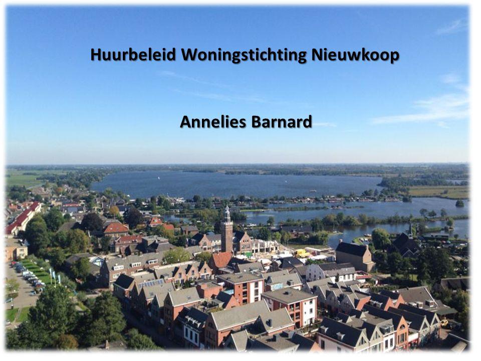 Huurbeleid WSN Informatie over het huurbeleid van WSN 27 mei 2015 Annelies Barnard