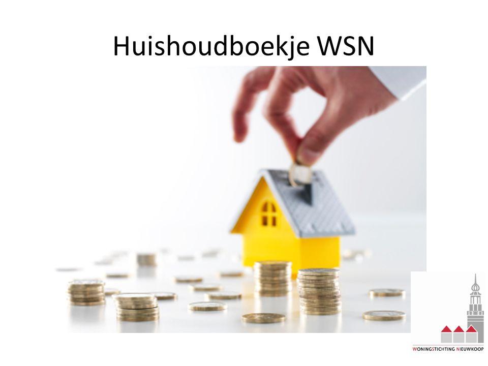 Huishoudboekje WSN