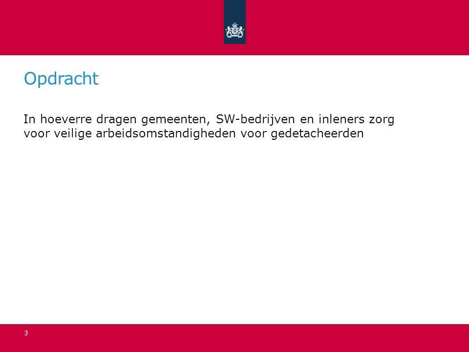 Achtergrond (kerngegevens) 90 SW-Bedrijven 30.000 gedetacheerd 9.000 inleners 15.000 individueel15.000 groepsverband 70.000 beschut, WOL, begeleid Nederland 8.000.000 werkenden 4