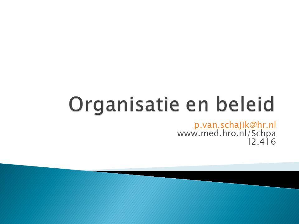 p.van.schajik@hr.nl www.med.hro.nl/Schpa l2.416
