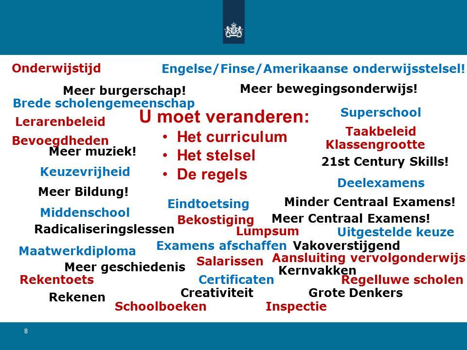 Normaal curriculum 19 Versneld curriculum 4 Leerjaar 5 6