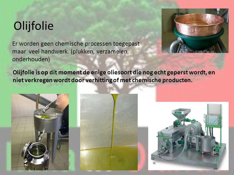 Er worden geen chemische processen toegepast maar veel handwerk.