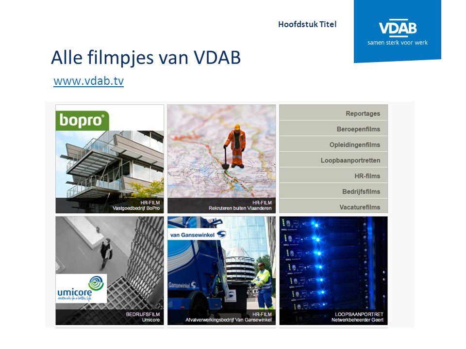 Digitale tools op je smartphone en tablet www.vdab.be/apps