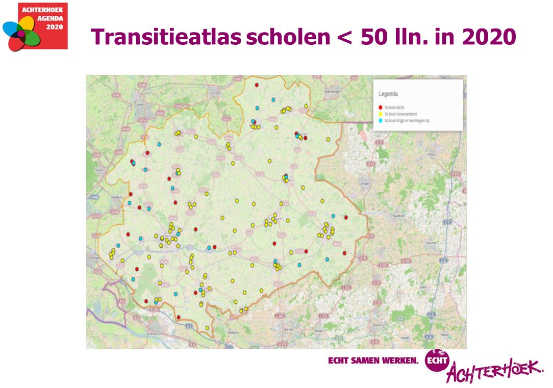 Transitieatlas scholen < 50 lln. in 2020