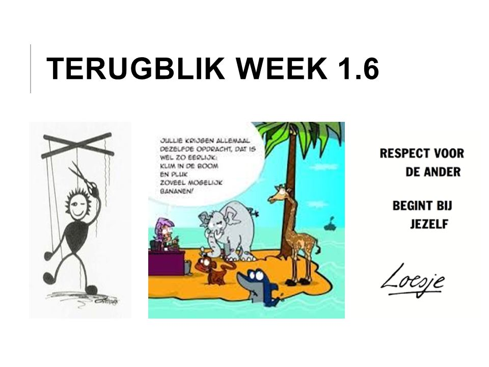 LEERDOELEN WEEK 1.7 De student kan: - het belang van het werken met MI uitleggen.