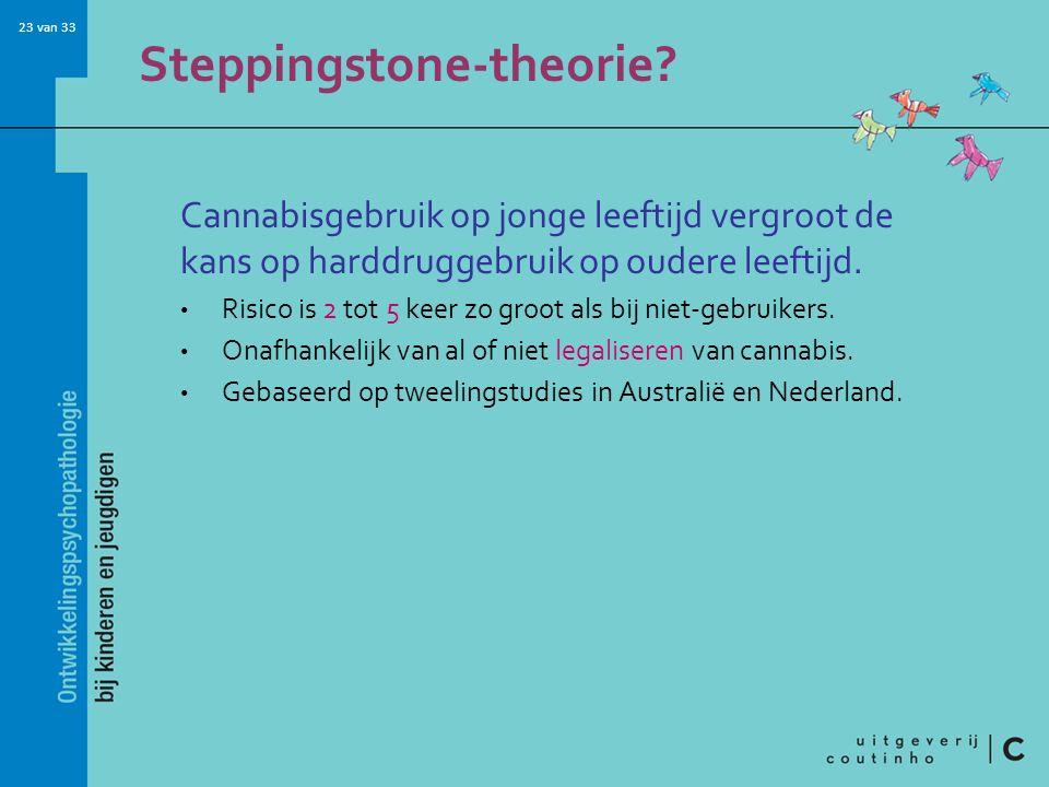 23 van 33 Steppingstone-theorie.
