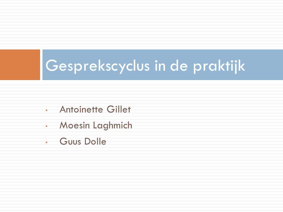 Antoinette Gillet Moesin Laghmich Guus Dolle Gesprekscyclus in de praktijk