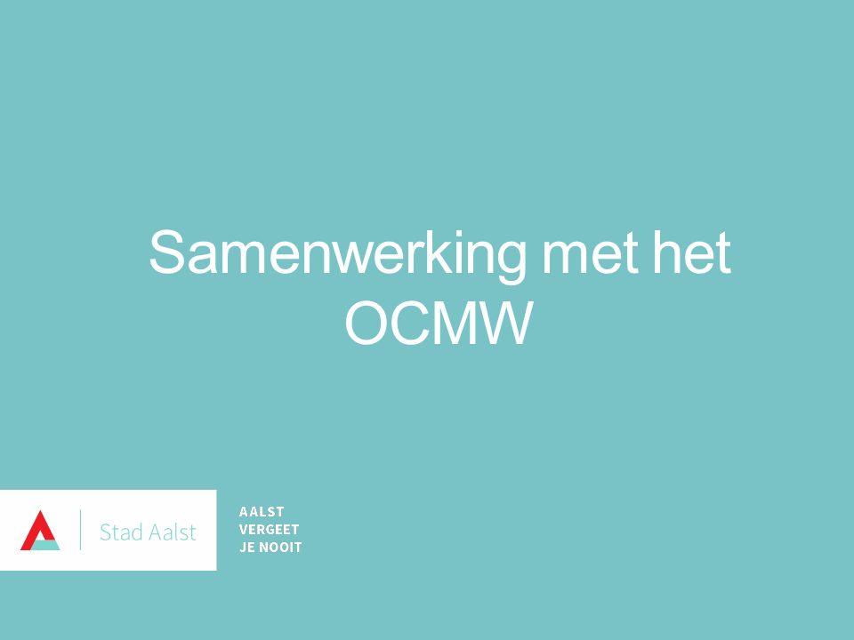 Samenwerking met het OCMW
