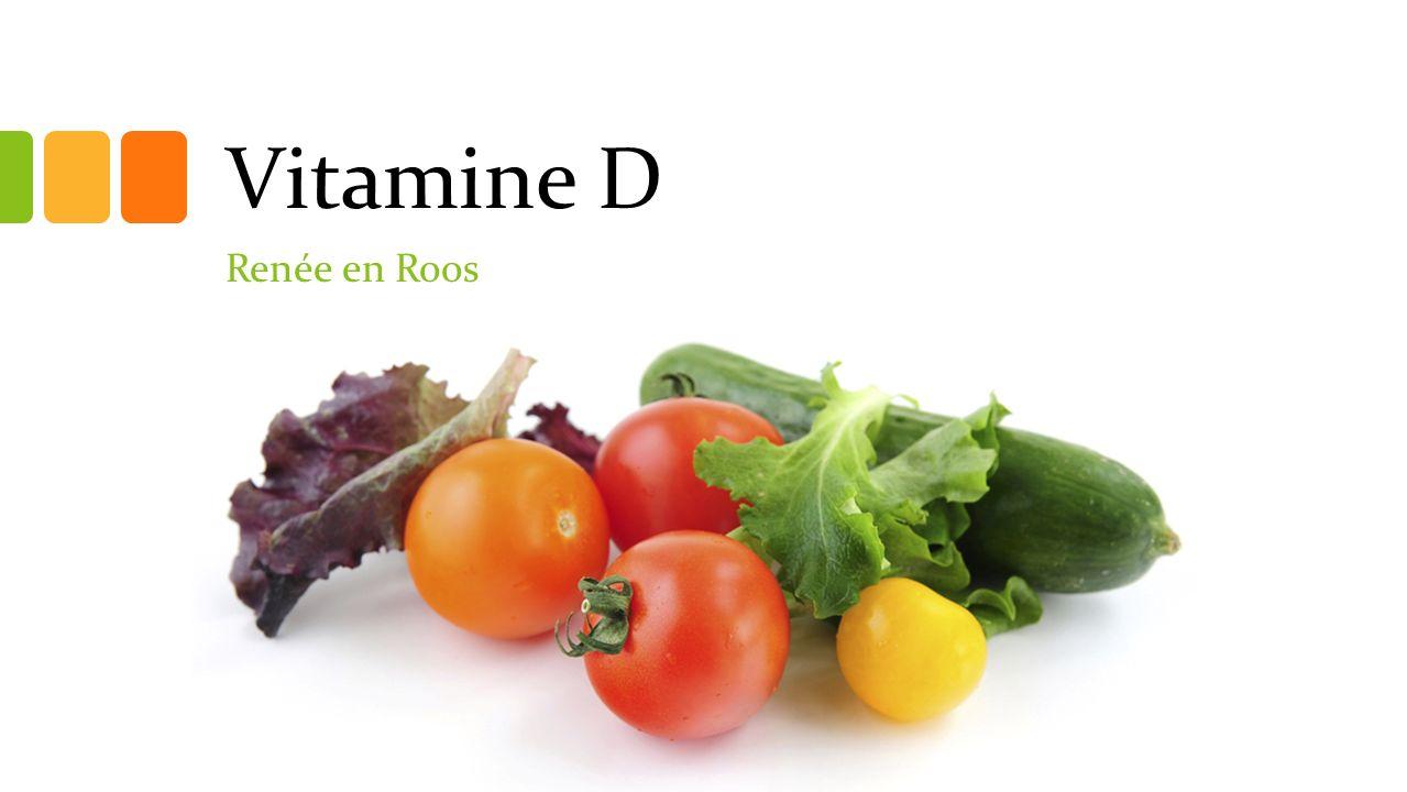 Vitamine D Renée en Roos