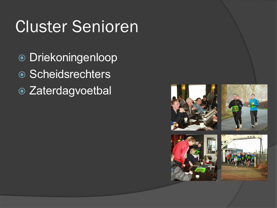 Cluster Senioren  Driekoningenloop  Scheidsrechters  Zaterdagvoetbal