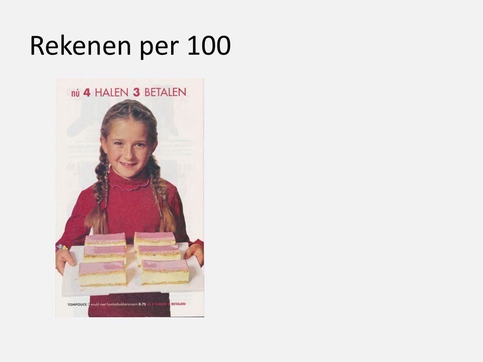 Rekenen per 100