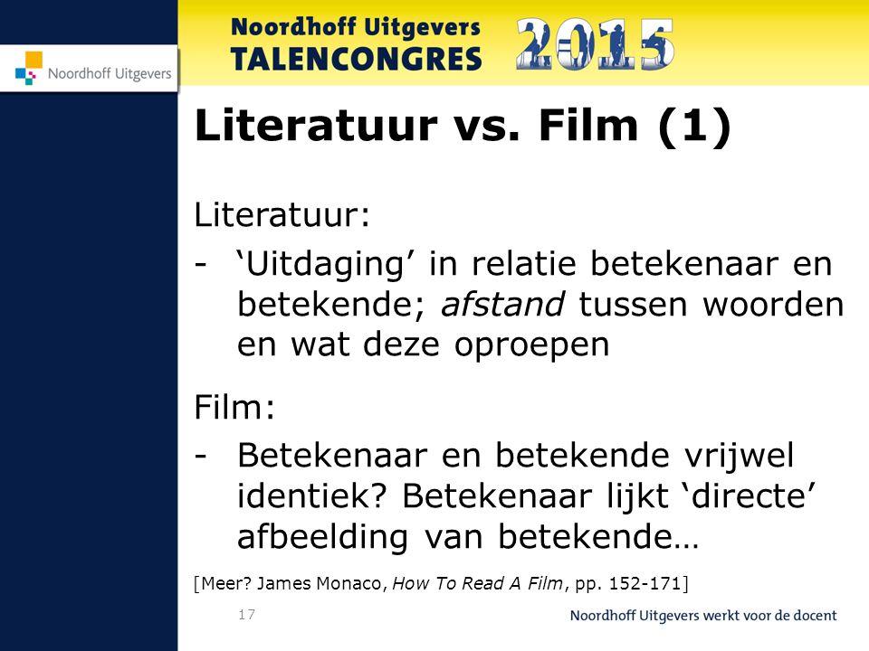 17 Literatuur vs.