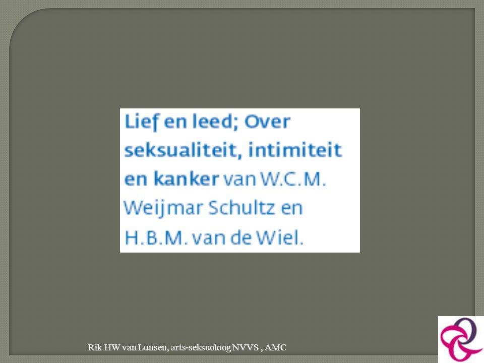Rik HW van Lunsen, arts-seksuoloog NVVS, AMC 29