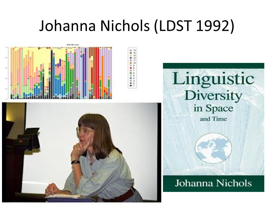 Johanna Nichols (LDST 1992)