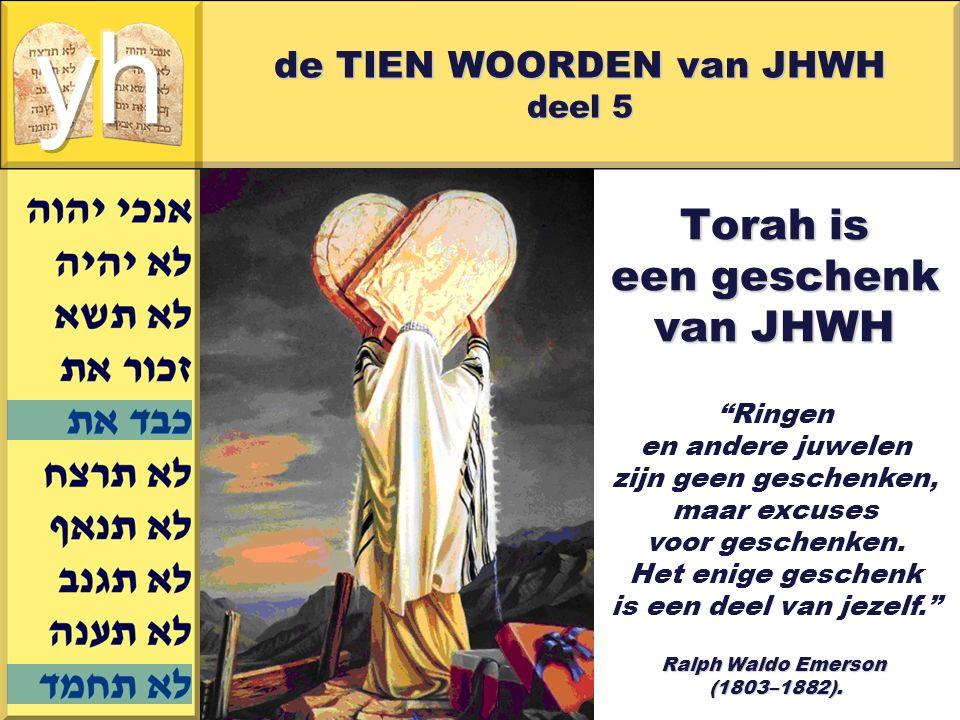 """Gerard J.Wijtsma de TIEN WOORDEN van JHWH deel 5 Torah is een geschenk van JHWH """"Ringen en andere juwelen zijn geen geschenken, maar excuses voor gesc"""