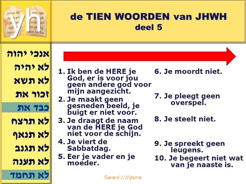Gerard J.Wijtsma Het 10 e woord in het NT Maar zo vaak iemand verzocht wordt, komt dit voort uit de zuiging en verlokking zijner eigen begeerte.